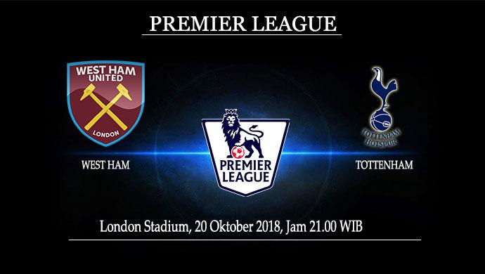 Prediksi Skor Akhir West Ham Vs Tottenham 20 Oktober 2018